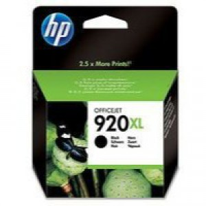 HP No.920XL Officejet Ink Cartridge Black Code CD975AE
