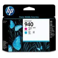 Hewlett Packard [HP] No. 940 Inkjet Printhead Cyan and Magenta Ref C4901A