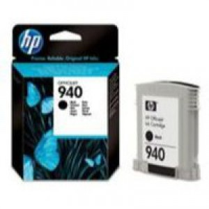 Hewlett Packard [HP] No. 940 Officejet Inkjet Cartridge Page Life 1000pp Cartridge Black Ref C4902AE