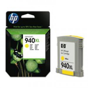 HP No.940XL Officejet Inkjet Cartridge Yellow Code C4909AE