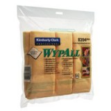 Wypall Microfibre Cleaning Cloths for Dry or Damp Multisurface Use Yellow Pack 6 Code 8394