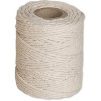 Twine Cotton Medium 500g 230m White Pk6