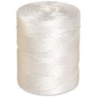 Twine Polyprop Medium 1kg 450m White