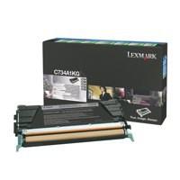 Lexmark Black C734A1KG Rtn/Pgrm Toner