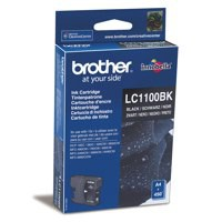 Brother Inkjet Cartridge Page Life 450pp Black Ref LC1100BK