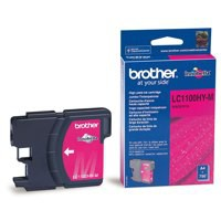 Brother Inkjet Cartridge Page Life 750pp Magenta Ref LC1100HYM