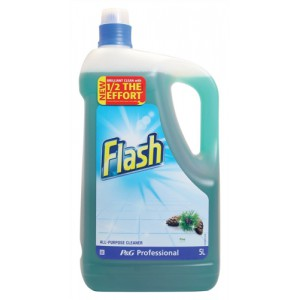 Flash All Purpose Cleaner for Washable Surfaces 5 Litres Pine Fragrance Code VPGFLP5