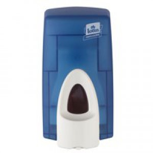 Lotus Foam Soap Dispenser for 0.8 Litre Refill Cartridges Casing Blue Ref 4017950