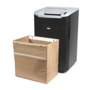 Rexel Recycling Shredder Bags Large W350xD490xH510mm Ref 2102248 [Pack 50]