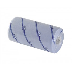 Georgia-Pacific Couch Roll Towelling Part-recycled 2-ply 10 Inch 125 Sheets W251xL457mm Blue Ref M02628