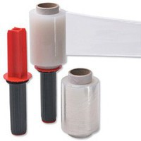 Film Wrap Stretch Packaging Mini Dispenser and 6 Refill Rolls 100mmx150m