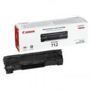 Canon 712 Laser Toner Cartridge Page Life 1500pp Black Ref 1870B002