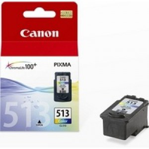 Canon CL-513 Inkjet Cartridge Page Life 349pp Colour Ref 2971B001AA