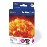 Brother Inkjet Cartridge Page Life 260pp Magenta Ref LC980M