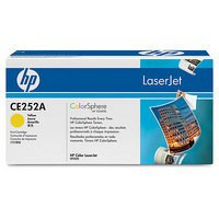 Hewlett Packard [HP] No. 504A Laser Toner Cartridge Page Life 7000pp Yellow Ref CE252A