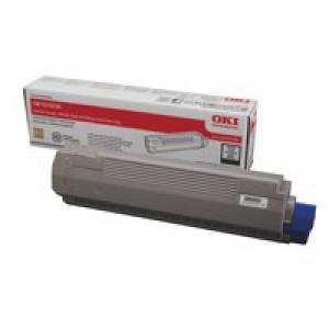 OKI Laser Toner Cartridge Page Life 8000pp Black Ref 44059108