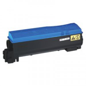 Kyocera TK-550C Laser Toner Cartridge Page Life 6000pp Cyan Ref 1T02HMCEU0