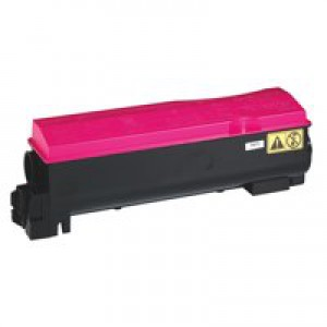 Kyocera TK-550M Laser Toner Cartridge Page Life 6000pp Magenta Ref 1T02HMBEU0