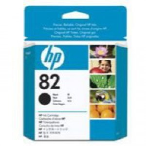 HP No.82 Inkjet Cartridge 69ml Black Code CH565A