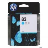 HP No.82 Inkjet Cartridge 28ml Cyan Code CH566A