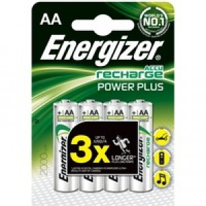 Energizer Rechargable Battery AA 1700mah Pack 4 Code 624910
