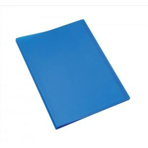 5 Star Display Book Soft Cover Lightweight Polypropylene 20 Pockets A4 Blue