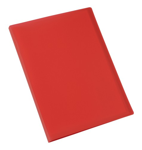 5 Star Display Book Soft Cover Lightweight Polypropylene 20 Pockets A4 Red