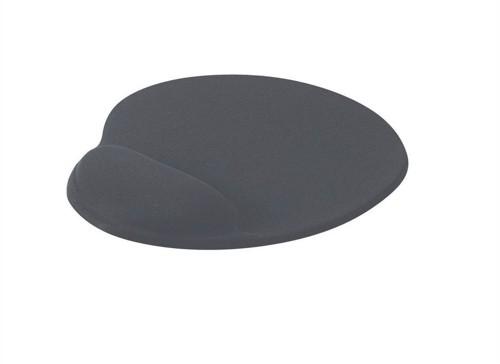 Mouse Mat Ergonomic Non Slip with Gel Wrist Rest Charcoal