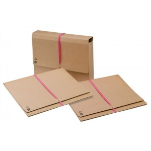 5 Star Legal Wallet with 914mm Tie Tape Gusset 51mm Foolscap 337x257mm [Pack 25]