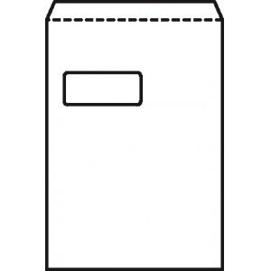 5 Star Envelopes Pocket Peel and Seal Window 100gsm White C4 Ref [Pack 250]