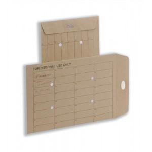 5 Star Internal Mail Envelopes Pocket Resealable 115gsm Manilla C4 [Pack 250]
