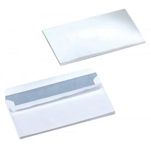 5 Star Envelopes Wallet Press Seal 90gsm White DL [Pack 500]