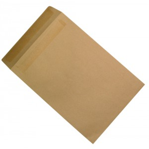 5 Star Envelopes Mediumweight Pocket Press Seal 90gsm Manilla 406x305mm [Pack 250]