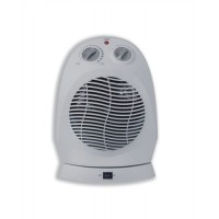 Image for 5 Star Facilities Fan Heater Oscillating with Safety Cut Out 2 Settings