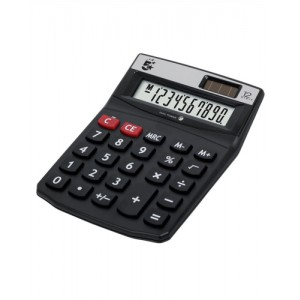 5 Star Calculator Desktop Solar/Battery Power 12 Digit 2 Set Memory 91x125x11mm Ref DT12D