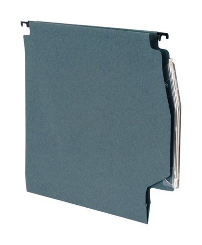 5 Star Lateral Files Manilla Heavyweight with Clear Tabs and Inserts W275mm Green Ref 100331404 [Pack 50]