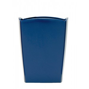 5 Star Office Pencil Pot 74x74x105mm Cobalt Blue
