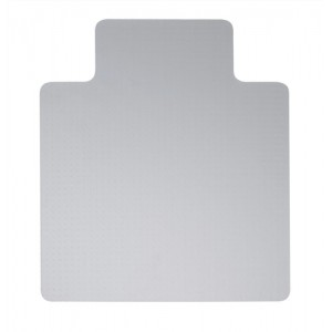 5 Star Chair Mat Hard Floor Protection PVC W900xD1200mm Clear/Transparent