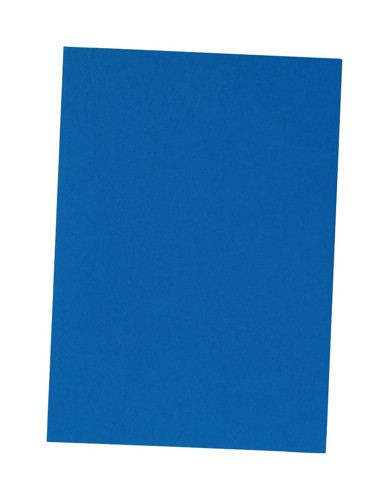 5 Star Binding Covers 240gsm Leathergrain A4 Royal Blue [Box 100]