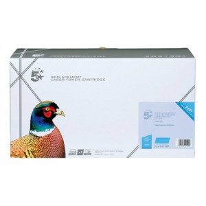 5 Star Compatible Laser Toner Cartridge Page Life 8000pp Cyan [HP No. 641A C9721A Alternative]
