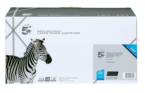 5 Star Compatible Laser Toner Cartridge Page Life 6000pp Black [HP No. 10A Q2610A Alternative]
