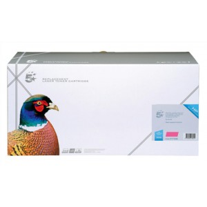 5 Star Compatible Laser Toner Cartridge Page Life 12000pp Magenta [HP No. 645A C9733A Alternative]