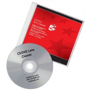 5 Star CD and DVD Lens Cleaner