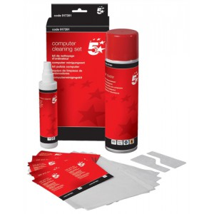5 Star Home and Office Computer Cleaning Kit