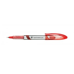 5 Star Liquid Fineliner Pen 0.4mm Line Red [Pack 12]