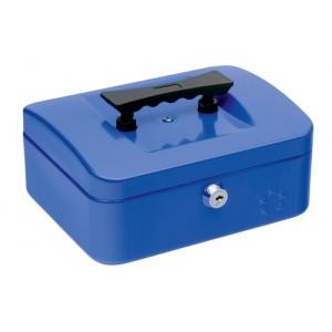 5 Star Cash Box 8 Inch W150xD200xH78mm Blue