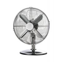 Image for  5 Star Facilities Desk Fan 12 Inch 90deg Oscillating 48.5Db 3-Speed 45 Watts H425mm Dia.305mm Chrome