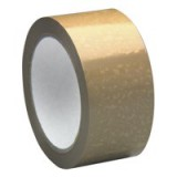 5 Star Packaging Tape Low Noise Polypropylene 50mm x 66m Buff [Pack 6]