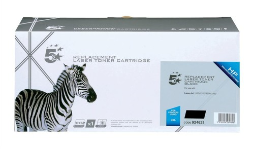 5 Star Compatible Laser Toner Cartridge Page Life 2500pp Black [HP No. 49A Q5949A Alternative]