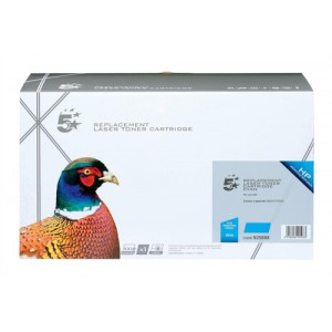 5 Star Compatible Laser Toner Cartridge Page Life 6000pp Cyan [HP No. 503A Q7581A Alternative]